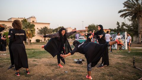 Women in Saudi Arabia Are Running—and They're Not Going to Stop