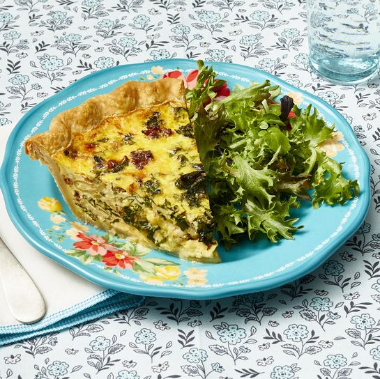 sausage and kale quiche