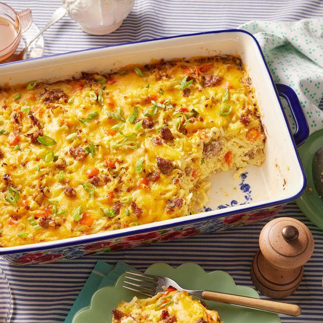 the pioneer woman's sausage breakfast casserole recipe