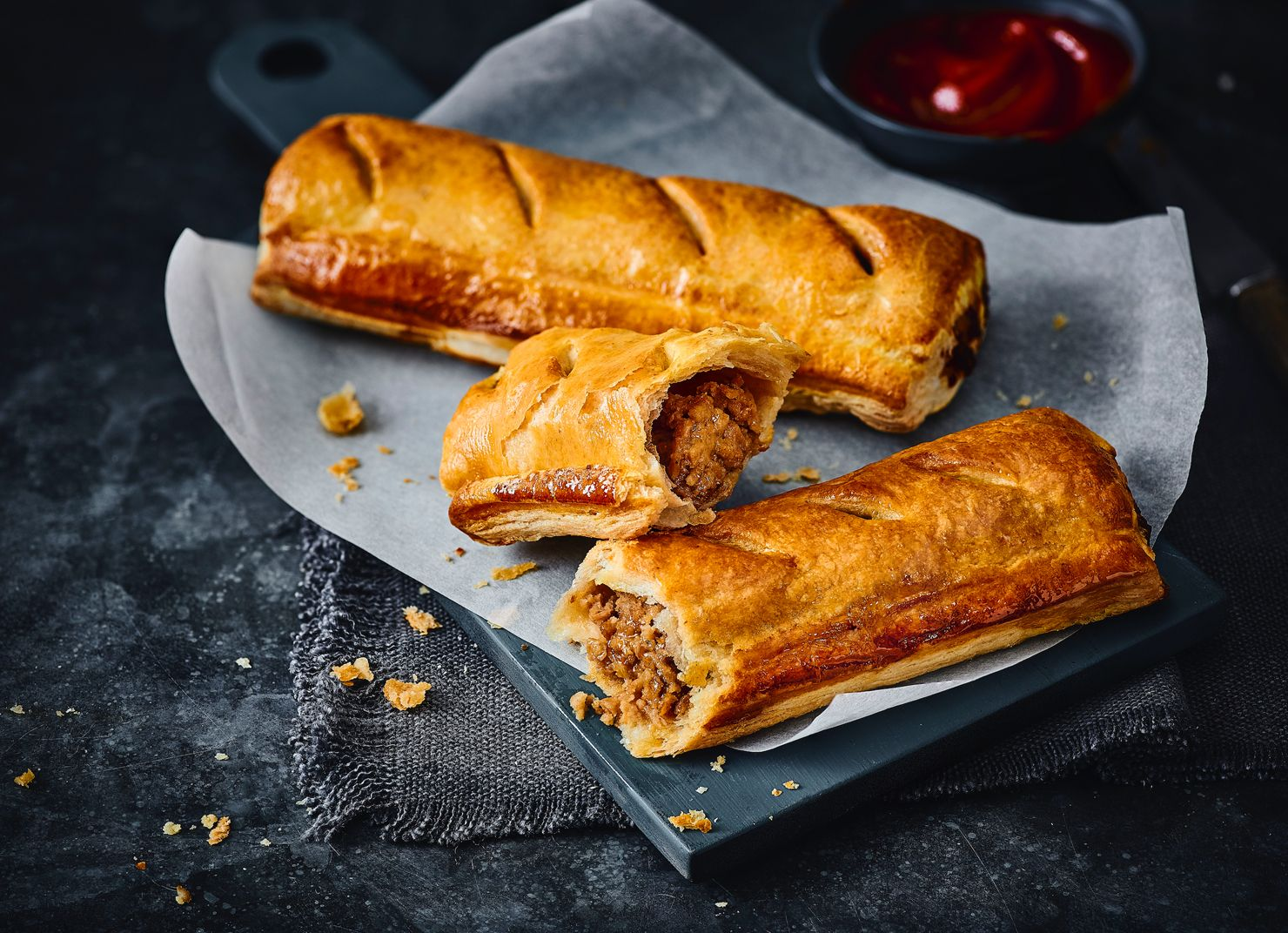 You can now buy hot vegan 'sausage' rolls at Marks & Spencer