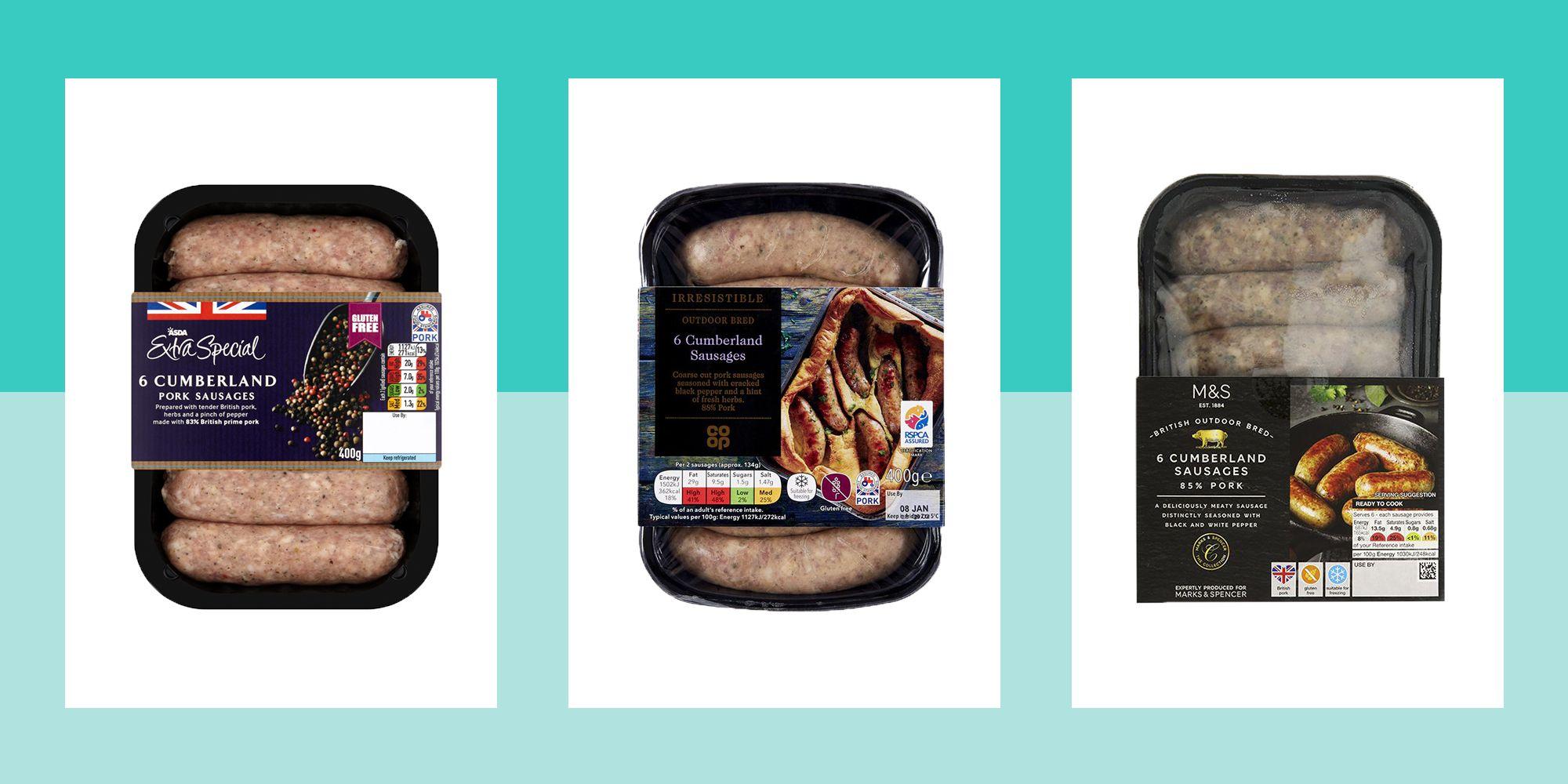 We found the best Cumberland sausage in our taste test