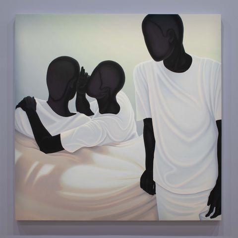 Art, Love, Illustration, Visual arts, Painting, Modern art, T-shirt, Gesture,