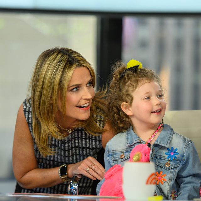 Savannah Guthrie Posts Photos From The Day She Had Baby Vale At 42