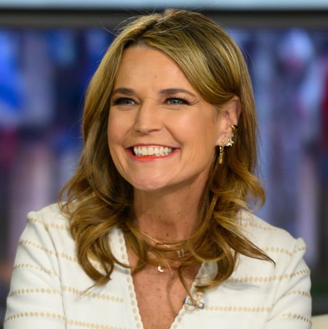 Today S Savannah Guthrie Shares Photo Of Her At Home Hair Dye Job