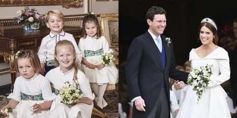 Official Royal Wedding Pictures.Savannah Phillips Steals The Show In Princess Eugenie S Official