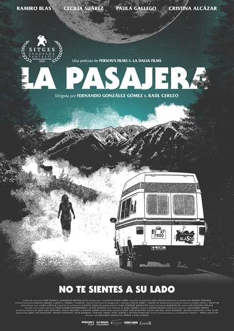 "cartel de ""la pasajera"""
