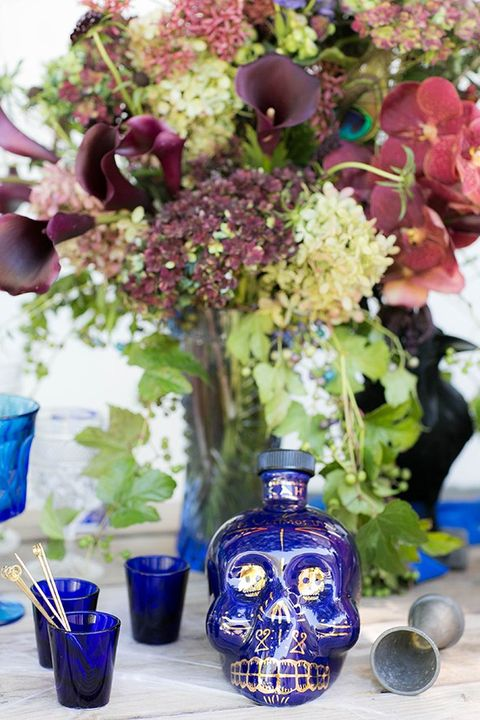 Blue, Flower, Cobalt blue, Cut flowers, Purple, Plant, Flower Arranging, Bouquet, Lilac, Hydrangeaceae,