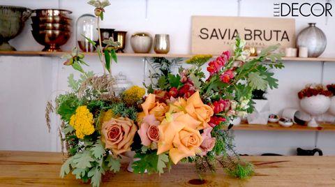 Master Class Un Centro Floral Garden Style Por Savia