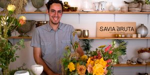 Masterclass hacer un centro floral Savia Bruta
