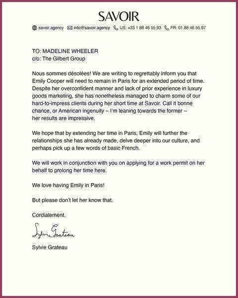 一封白紙黑字的信