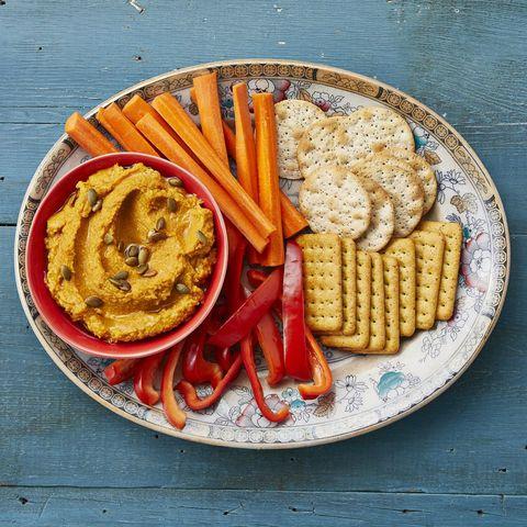 pumpkin recipes roasted garlic hummus