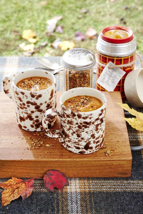 savory pumpkin soup with spice shake recipe