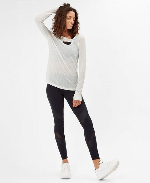 Twist Long Sleeve Yoga Top