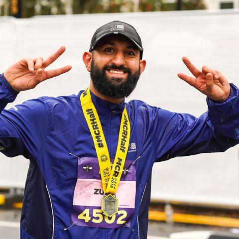 manchester half marathon £1 places