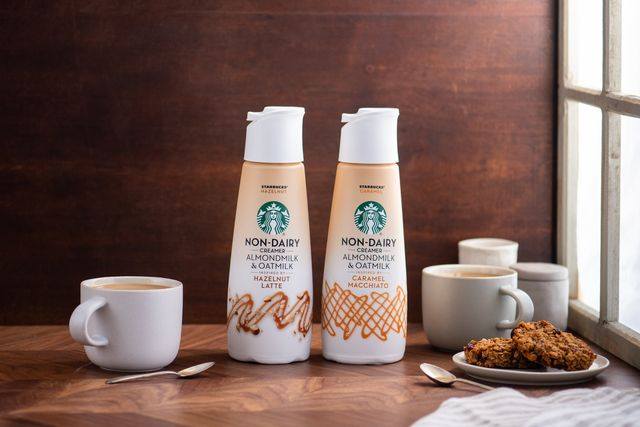 starbucks non dairy coffee creamer