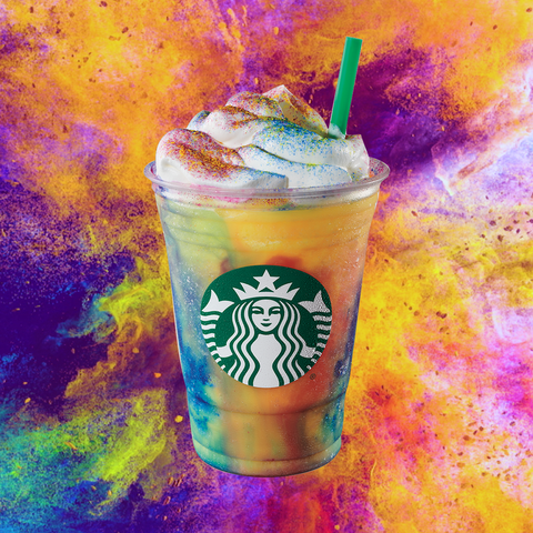 What's in the New Starbucks Tie-Dye Frappuccino? Dietitians Break It Down