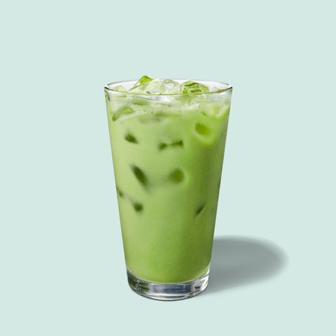 Starbucks matcha pineapple drink