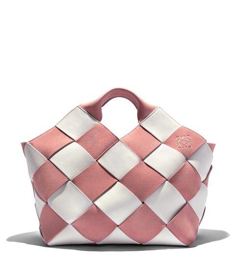 Bag, Handbag, Pink, Shoulder bag, Fashion accessory, Beige, Peach,