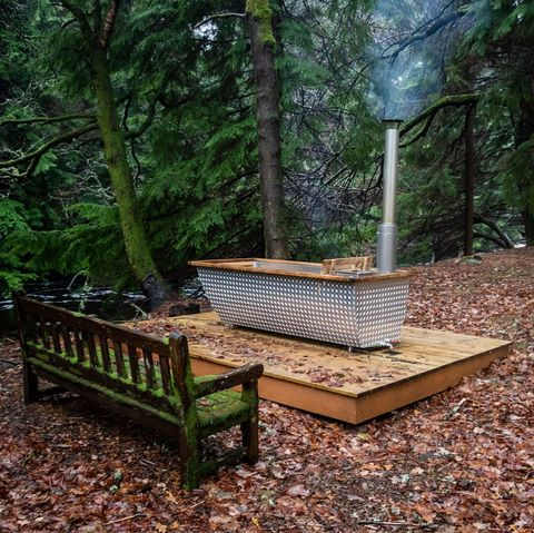Lodges with hot tubs