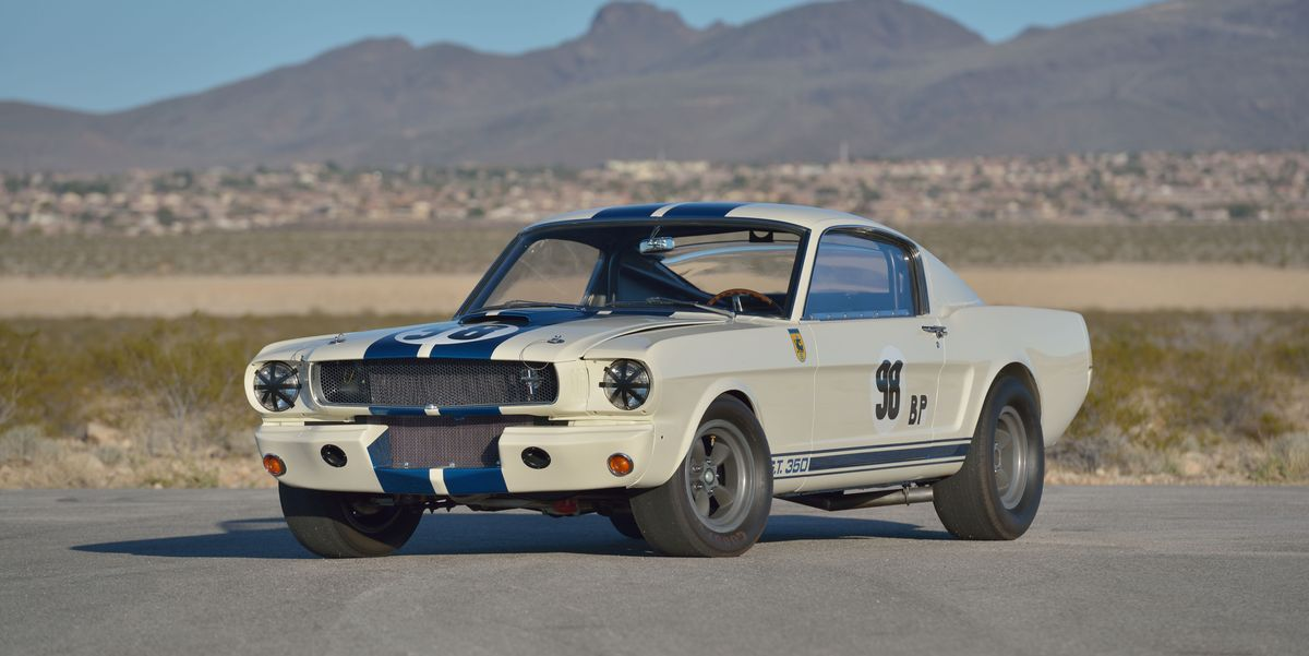 The First Ford Mustang Shelby GT350 Competition Prototype Sells for $3.5 Million