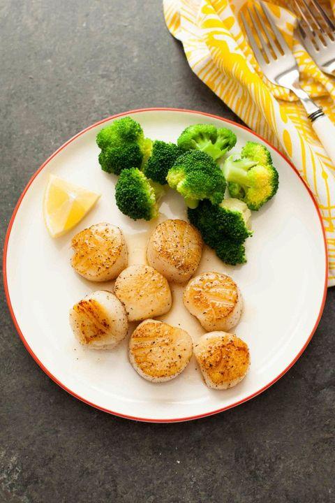valentines day dinner scallops