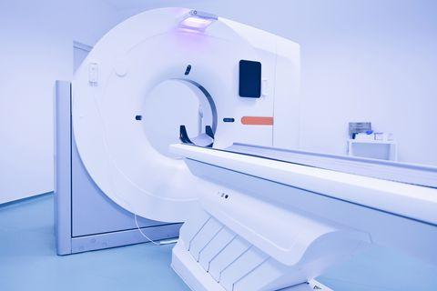 CT-scan-machine (scanner at hospital)
