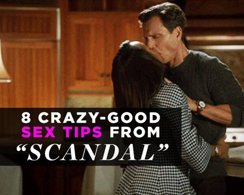 8 Crazy-Good Sex Tips from Scandal
