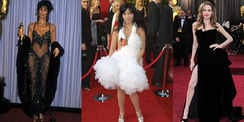 4c78f77d8ccf 30+ Scandalous Oscars Dresses of All Time - Best and Worst Gowns at ...