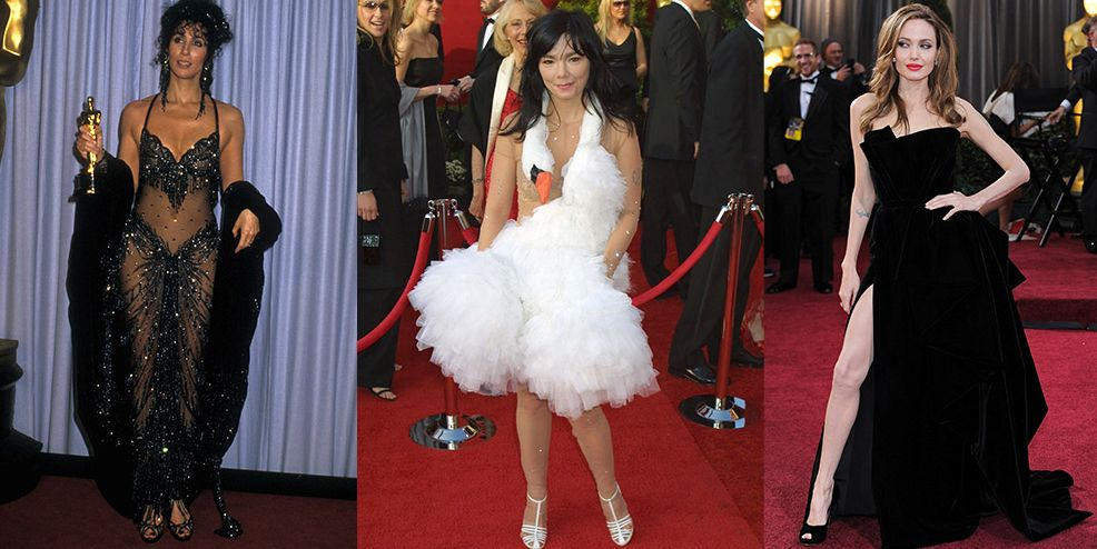 30 Scandalous Oscars Dresses Of All Time Best And Worst