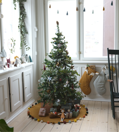 At Home Christmas Trees.How To Create A Scandi Christmas Theme At Home Nordic Style