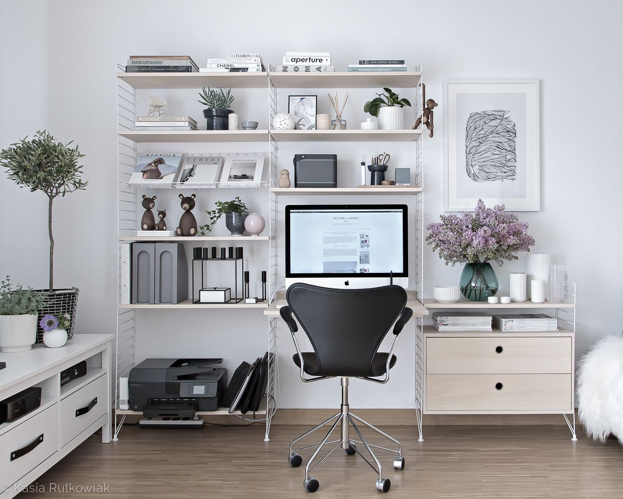 Scandinavian Office Design