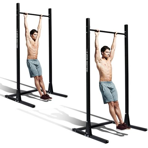 Free weight bar, Parallel bars, Horizontal bar, Exercise equipment, Shoulder, Standing, Weightlifting machine, Physical fitness, Arm, Pull-up,