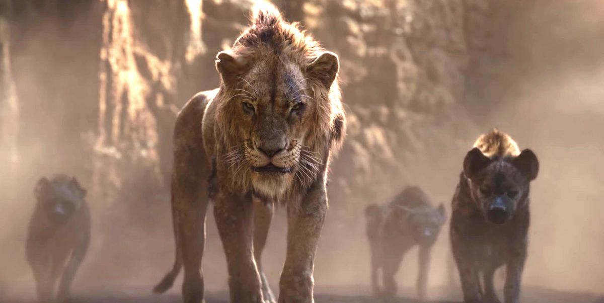 The Lion King Trailer Gives First Look At Scar And That