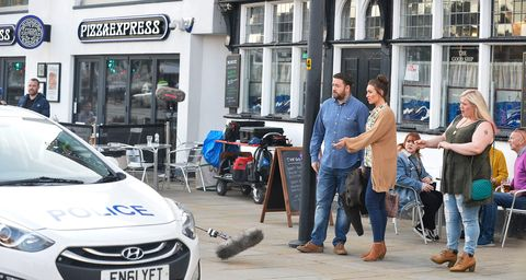 Corrie And 15 Days Star Catherine Tyldesley Runs Into
