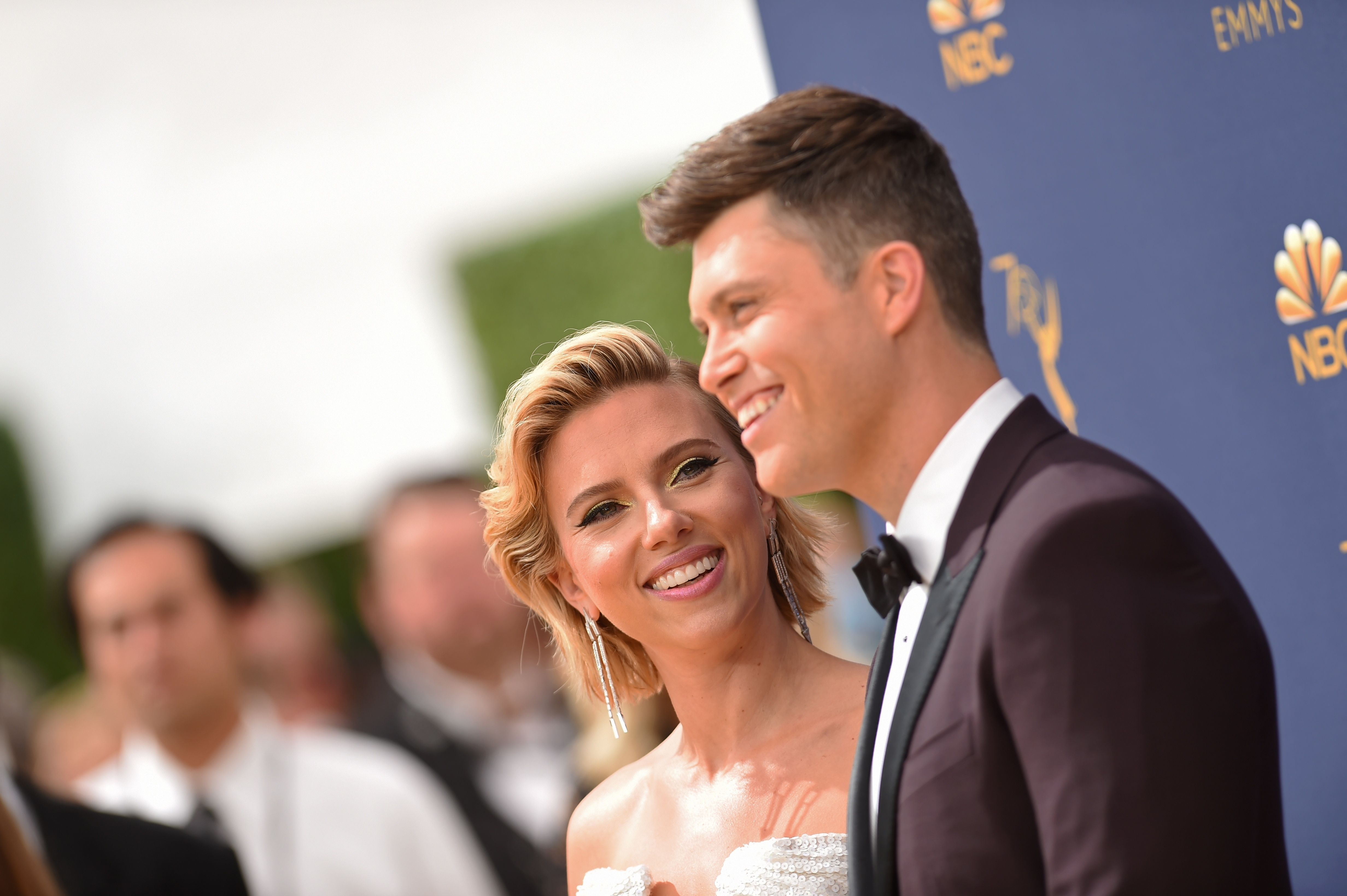 Scarlett Johansson And Her Fiance Colin Jost Met On The Set Of Snl