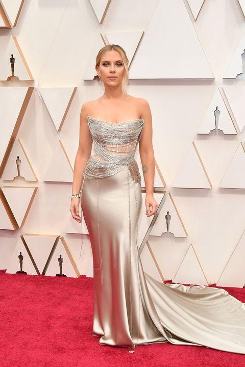 Scarlett Johansson bij de Oscars 2020