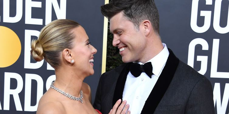 Scarlett Johansson And Colin Jost S Body Language Explained