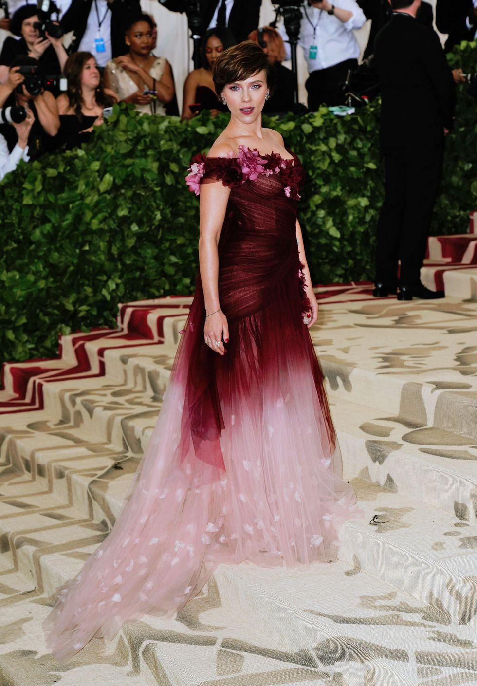 Most Beautiful Red Carpet Outfits of Scarlett Johansson