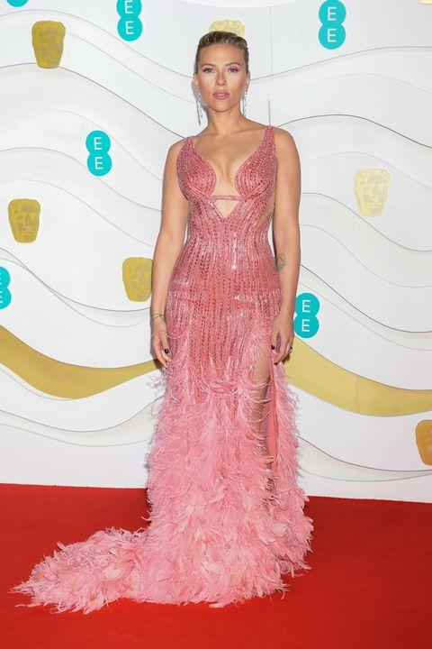Scarlett JohanssonEE British Academy Film Awards 2020 - VIP Arrivals