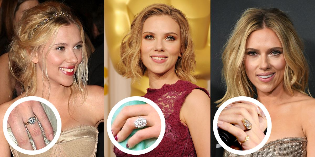Why Scarlett Johansson Chose An Unusual Ring For Her Engagement To