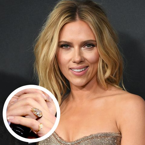 e54e1d2005b6 Why Scarlett Johansson Chose an Unusual Ring for Her Engagement to ...