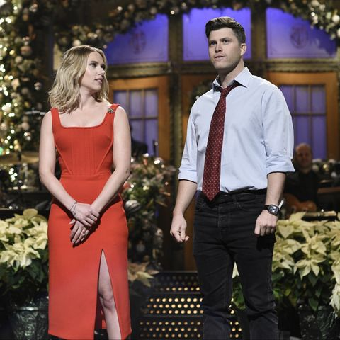 Inside Colin Jost And Scarlett Johansson S Relationship And