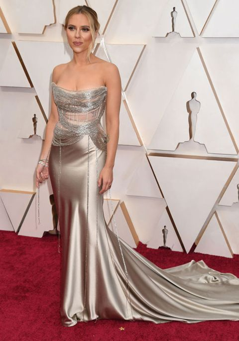 Oscars 2020 red carpet scarlet johannson