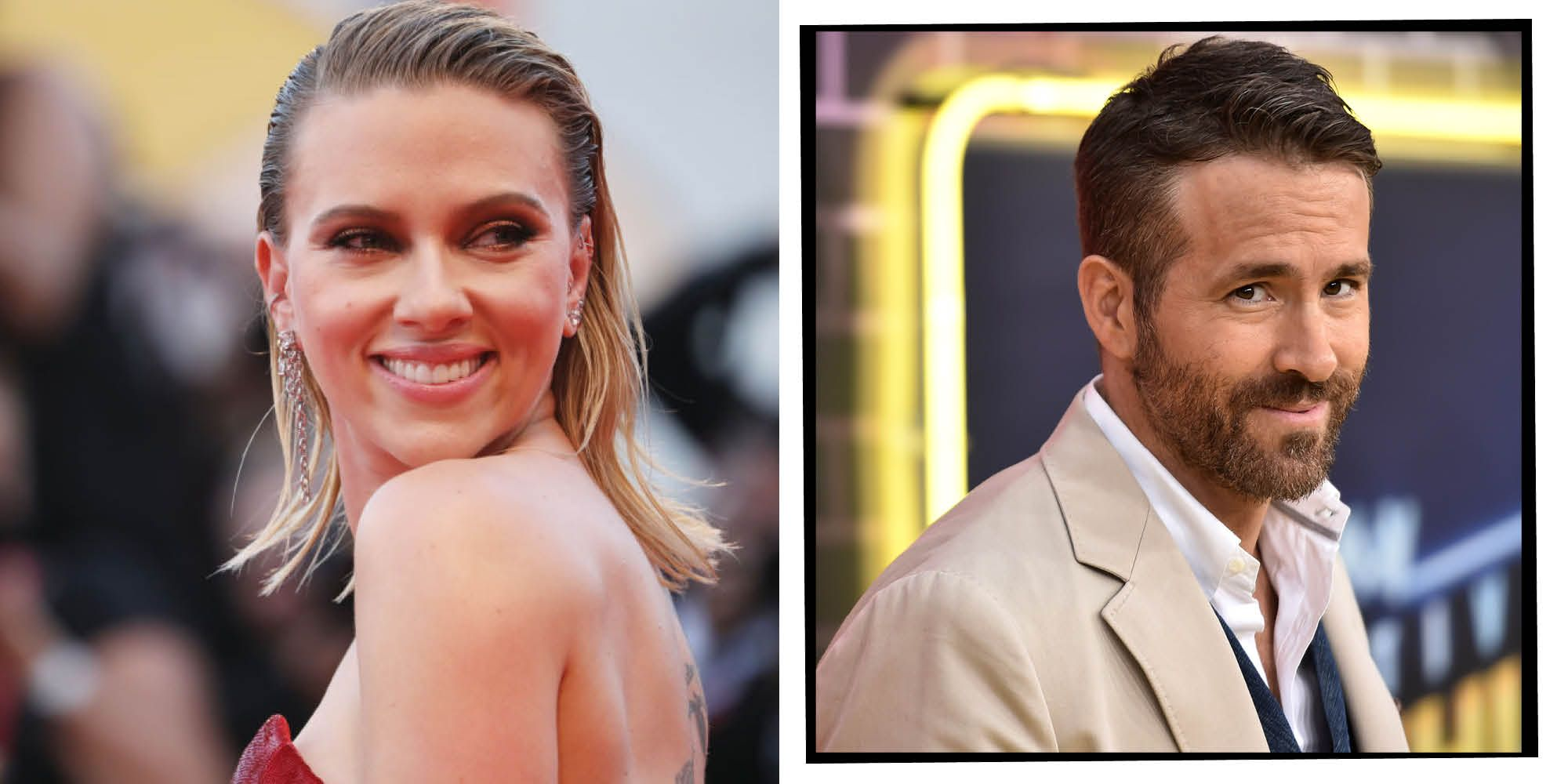 Scarlett Johansson Discusses Marriage To Ryan Reynolds