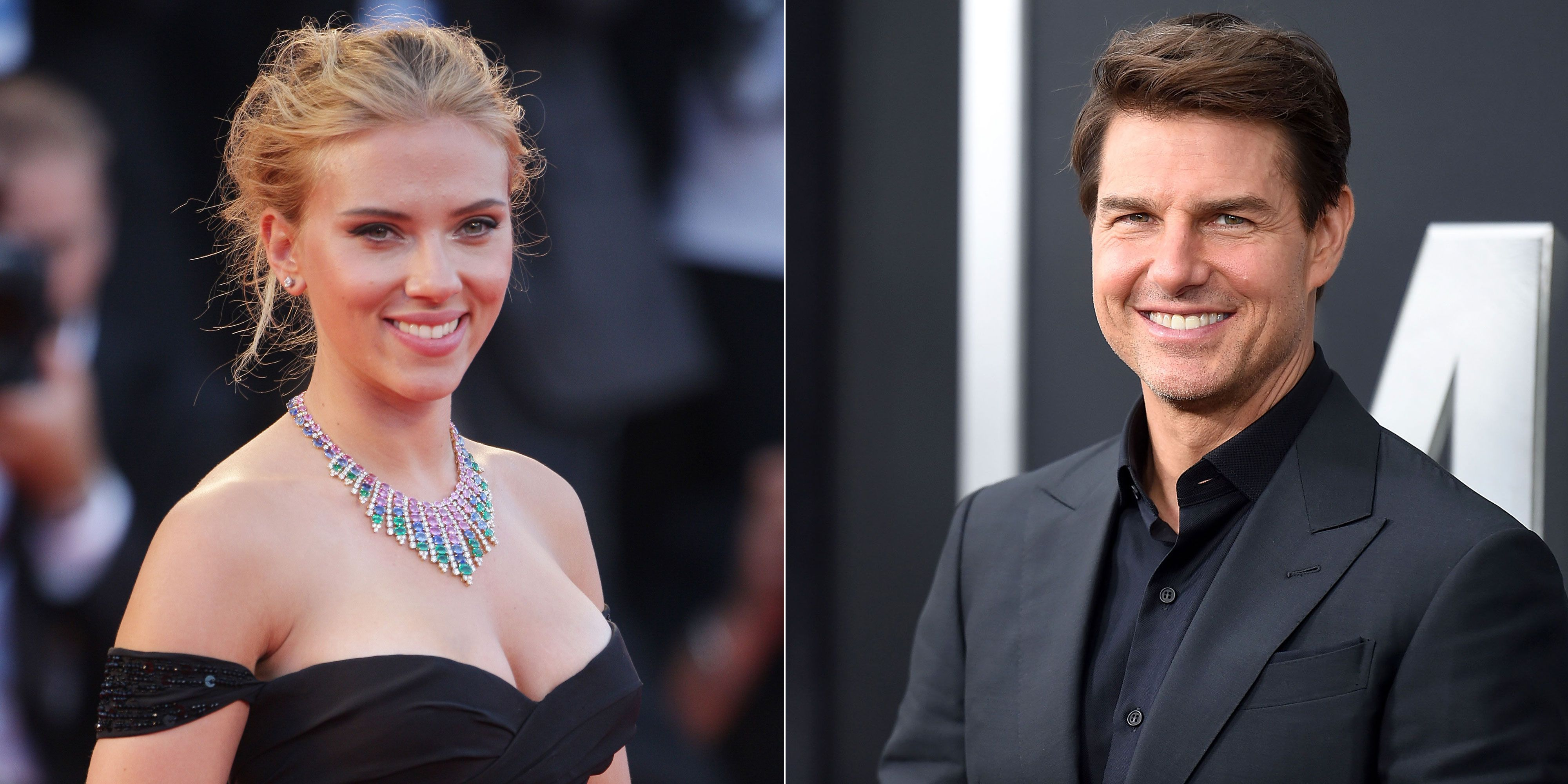 Scarlett Johansson and Tom Cruise
