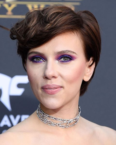 Scarlett Johansson Brown Hair