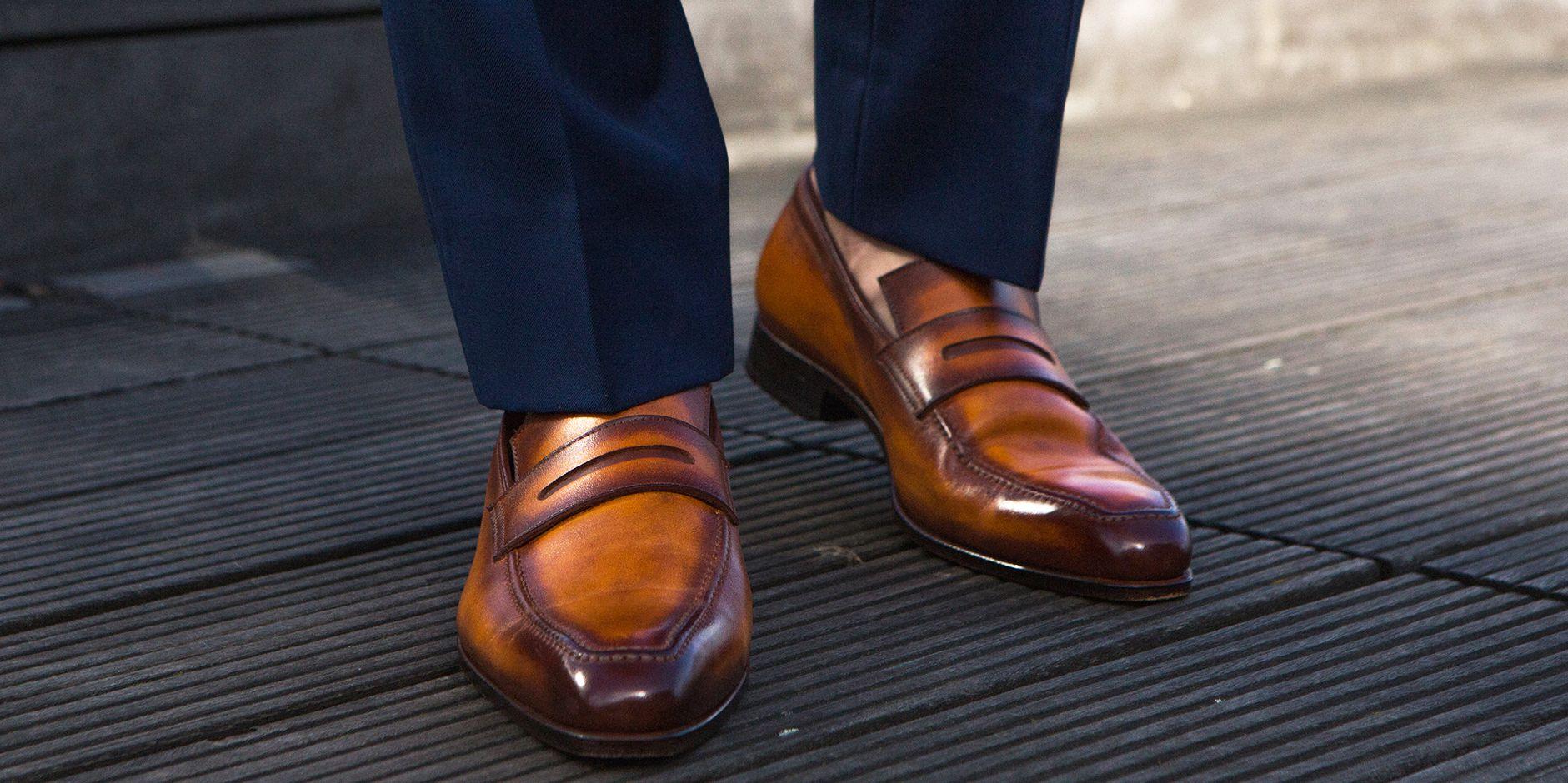 Il segreto per rendere una scarpa unica è la patina