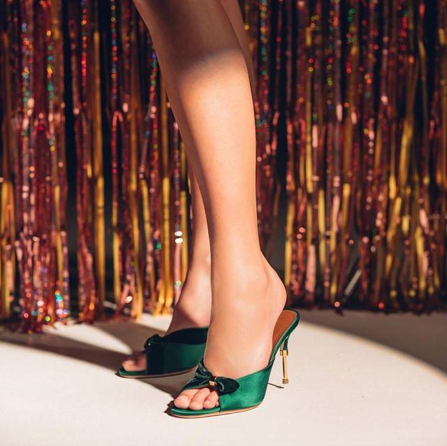 High heels, Footwear, Human leg, Leg, Fashion model, Sandal, Ankle, Shoe, Fashion, Joint,