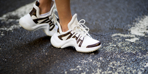 Scarpe moda 2019 sneakers bianche Primavera Estate