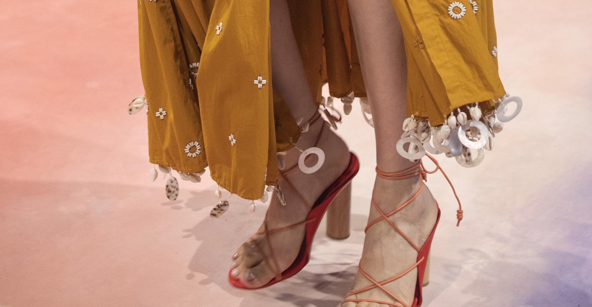 Le scarpe della Primavera Estate 2020 sono già qui, fresche fresche di sfilate dalle fashion week